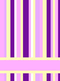 Pink purple stripes. Card made of different color stripes with place for the text Royalty Free Stock Images