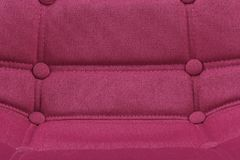 Pink purple textile chair seat close-up detail background - Modern furniture home interior concept - Pink Office Chair Seat Close. Pink purple textile chair seat stock image