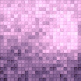Pink and purple tiles stock illustration