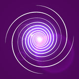 Pink purple with white swirl spiral Stock Photo