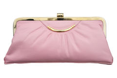 Pink purse Stock Photo