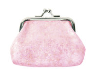 Pink purse Royalty Free Stock Images