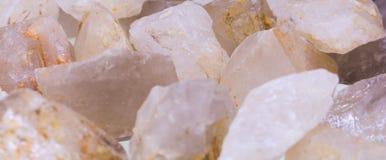 Pink quartz Royalty Free Stock Photos