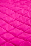 Pink quilt Stock Photography