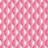 Pink quilted texture Royalty Free Stock Photo