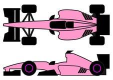 Pink racing car Stock Photography
