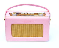 Pink radio Royalty Free Stock Image