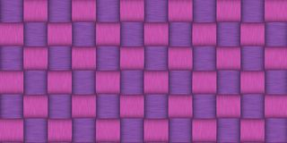 Pink rattan wood texture Royalty Free Stock Images