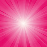 Pink ray background Royalty Free Stock Images