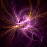 Pink ray dance. Pink ray dancing background Royalty Free Stock Photos