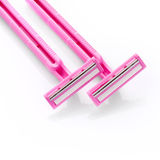 Pink razors Royalty Free Stock Photography
