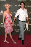 Pink,Rebecca Romijn,Jerry O'Connell Stock Image