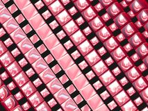 Pink rectangles Royalty Free Stock Image