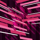Pink Rectangles Background Means Rectangulaar Shapes Decoration Stock Photo