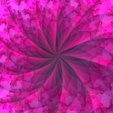 Pink Red Abstract Background. Abstract Swirl in rich colors of red, maroon and pink Stock Photo