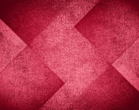 Pink and red background design, abstract block pattern Stock Photography