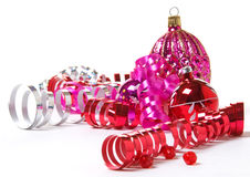 Pink and Red Christmas Stock Photos