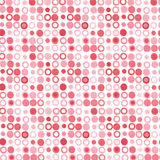 Pink red dots royalty free stock images