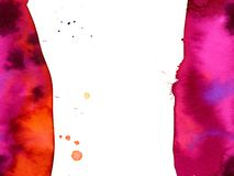 Pink and red stains Stock Images