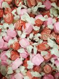 Pink and red swirl candies Royalty Free Stock Photography