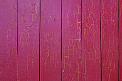 Pink or red wood boards texture. Pink wood boards texture background. Vintage painted vertical planks Stock Photo