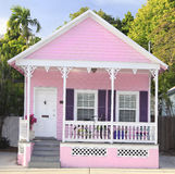 Pink Rental House in Key West, Florida. USA Royalty Free Stock Photo