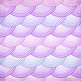 Pink retro fish scales vector seamless pattern Royalty Free Stock Photo