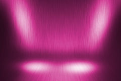 Pink Retro Stage. Background Image Royalty Free Stock Photo