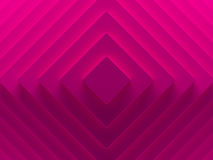 Pink rhombuses. Female abstract geometric. Background for material modern design. 3D illustration. Works for text and website backgrounds, print and mobile Royalty Free Stock Photo