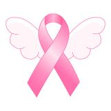 Pink ribbon Stock Images