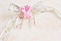 Pink ribbon Royalty Free Stock Photography