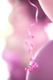 Pink ribbon Stock Photography