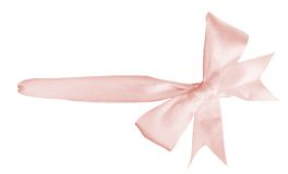 Pink ribbon Stock Photography