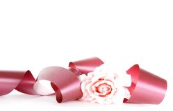 Pink ribbon Royalty Free Stock Image
