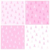 Pink ribbon background Stock Photos