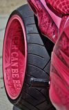 Pink Ribbon Bike Stock Photography