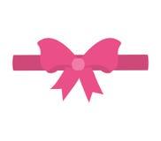 pink ribbon bow decorative Stock Photos