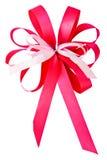 Pink ribbon bow Royalty Free Stock Image