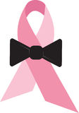 Pink Ribbon Bowtie Stock Images