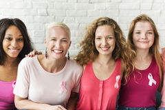 Pink Ribbon Breast Cancer Awareness Concept Stock Photo