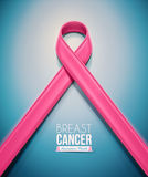 Pink Ribbon Stock Photo