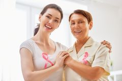 Pink ribbon concept Stock Photography