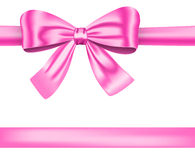 Pink ribbon Stock Photos
