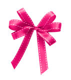Pink ribbon isolated Royalty Free Stock Photos