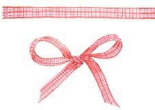 Pink ribbon royalty free illustration