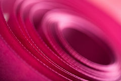 Pink ribbon spiral background Royalty Free Stock Photo