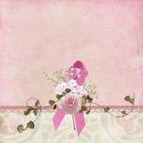 Pink ribbon symbol Stock Photography