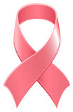 Pink ribbon symbol World AIDS Day Stock Images