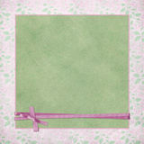 Pink ribbon wrap Stock Image