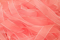 Pink Ribbons. Lots of pink ribbons background Royalty Free Stock Photography